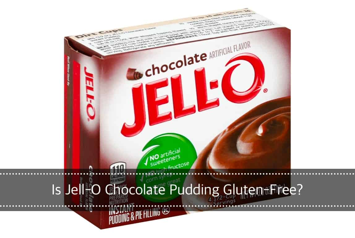 is Jell-O Chocolate Pudding Gluten-Free?